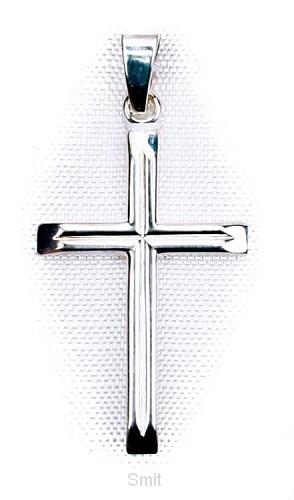 Hanger zilver kruis 23mm