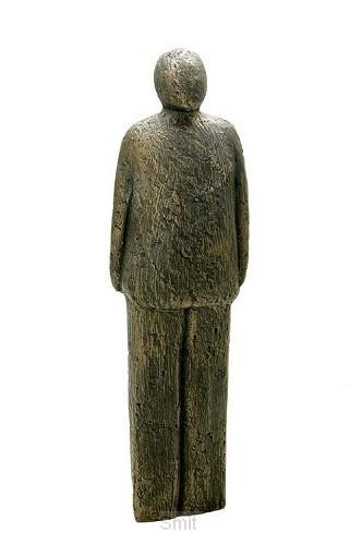 Beeld man 30cm brons