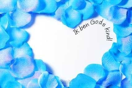 Prentbriefkaart ik ben Gods kind
