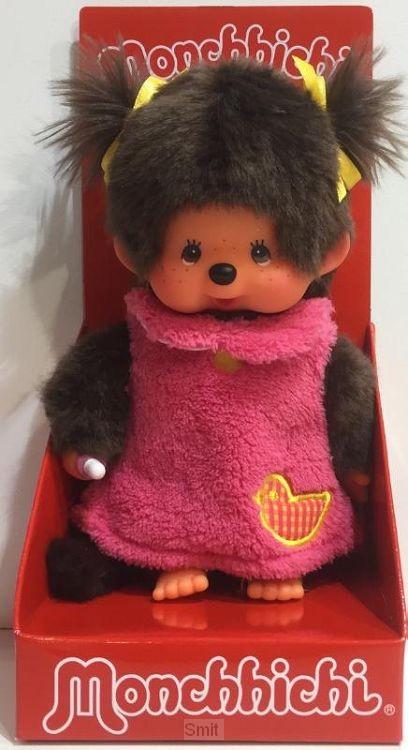 MONCHHICHI 20 cm Meisje Pink Fluffy