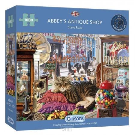 Abbey's antique shop 1000 stukjes