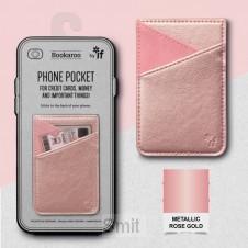 Bookaroo Phone Pocket - Rose Gold
