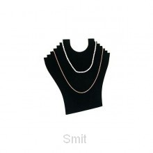 Display foldable necklace for 6 necklace