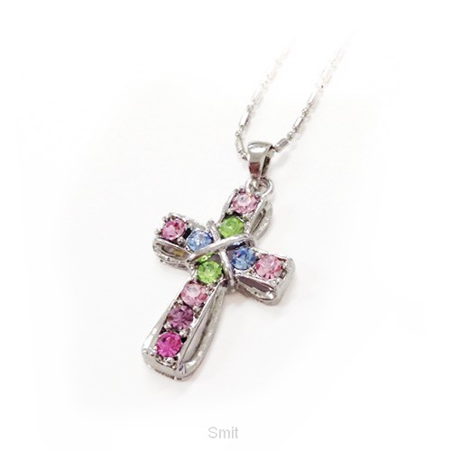 Necklace cross multi
