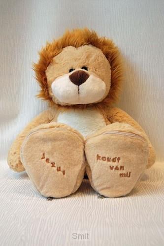 Leeuw 45cm Jezus houdt van mij