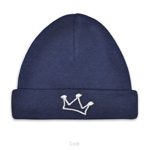 Baby hat crown-new navy