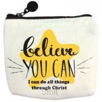 Coin pouch belive you can