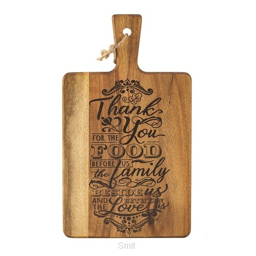 Cutting board thank you for the 31,7cm