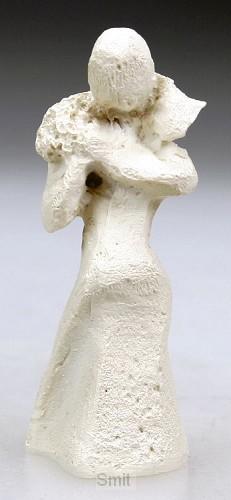 Beeld 604c herder 6cm ivoor