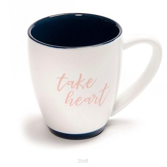take heart coffee mug