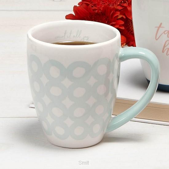 Count it all joy coffee mug