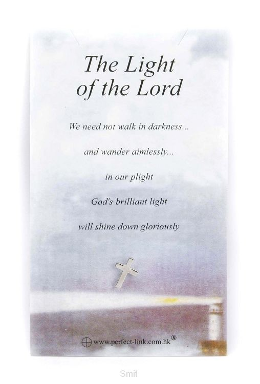 Reverspin the light of the Lord op kaart