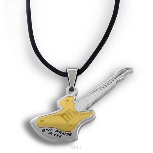 Necklace guitar/give praises