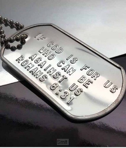 Dog tag if God is for us