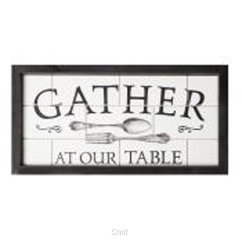 Gather at our table