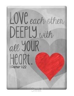 Magnet love 1 peter 1:22