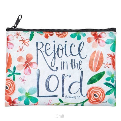 Coin Purse Rejoice in the Lord