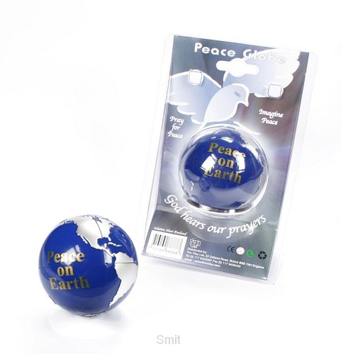 Puzzel globe peace on earth