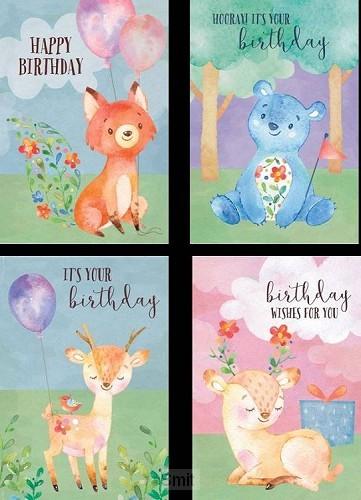 Birthday cute critters set4