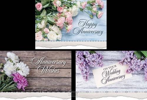 Anniversary card lifelong love set3