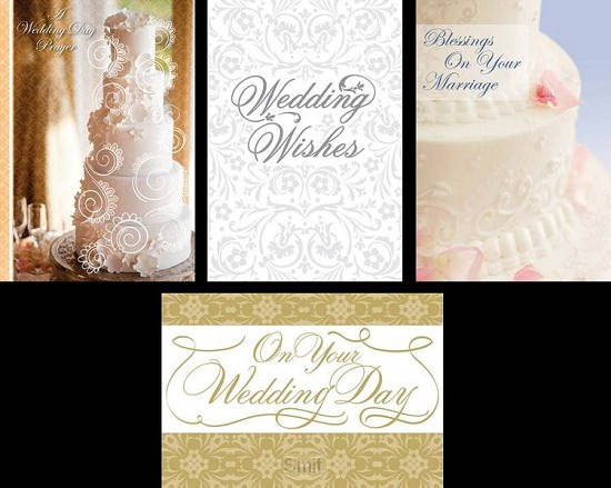 Wedding card day to remember set4