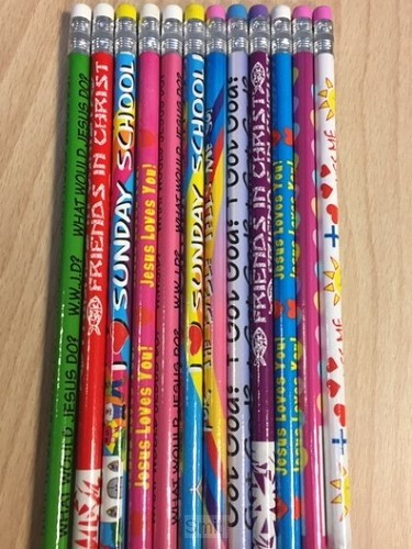 Religious pencil assortment set12