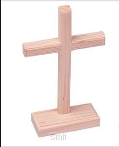DIY unfinished wood crosses