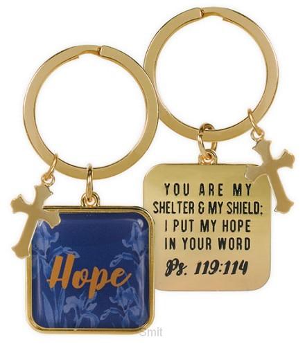 Keychain hope psalm 119:114