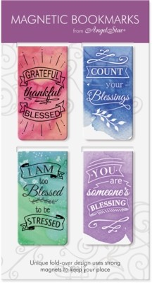 Magnetic bookmark blessed set4