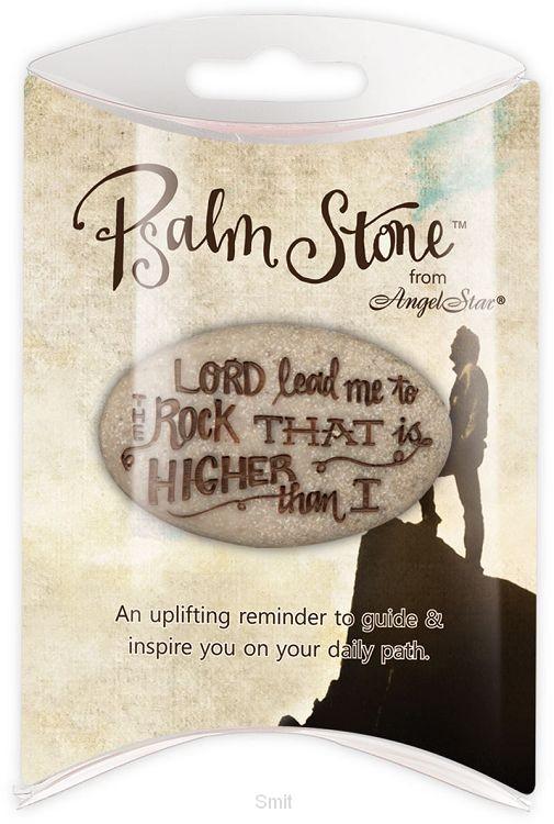 Psalm stone psalm 46:1 verpakt