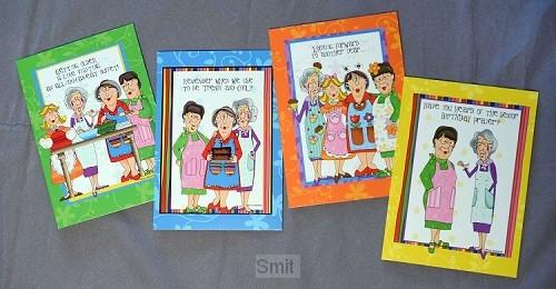 Cards birthday church kitchen ladies s4