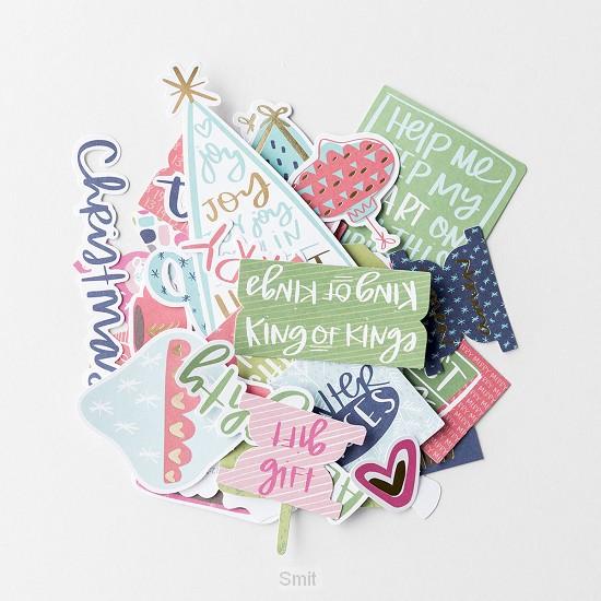 Advent - Paper pieces