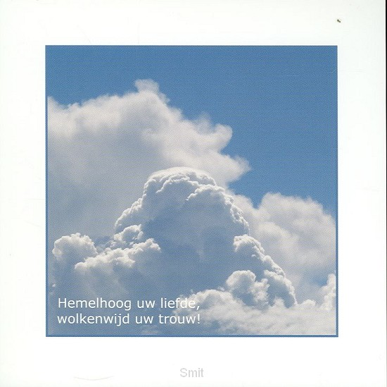 Wenskaart wolken
