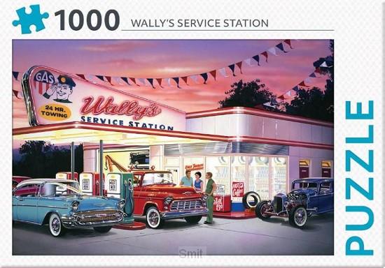 Wally's service station - puzzel 1000 stukjes