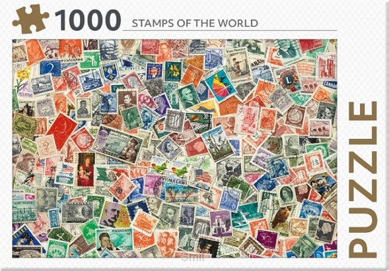 Stamps of the world - puzzel 1000st