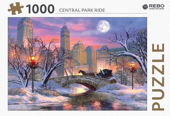 Rebo legpuzzel 1000 stukjes - Central Park ride