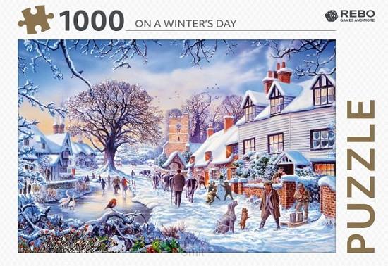 Rebo legpuzzel 1000 stukjes - On a winter's day