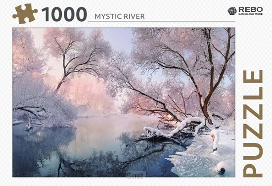 Rebo legpuzzel 1000 stukjes - Mystic river