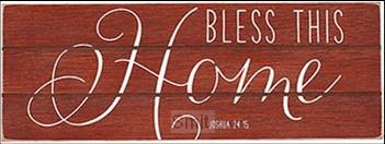 Rustic treasure bless this home