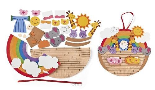 Noahs ark craft kit set3