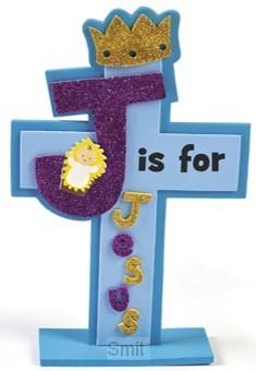 Craft kit j is for Jesus set3