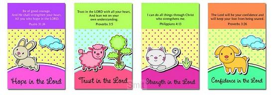 Memo pad series cute animals set4