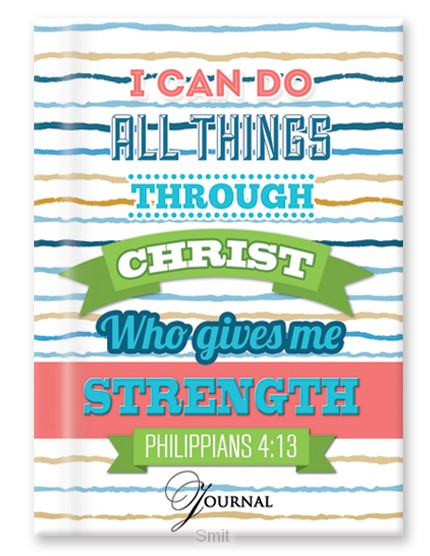 Hardcover journal I can do all things