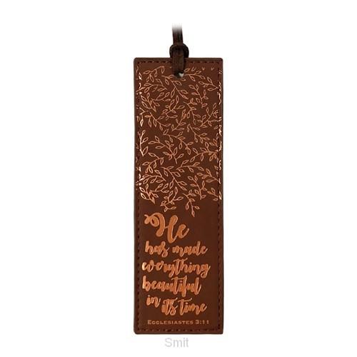 Luxleather Bookmark Everything Beautiful