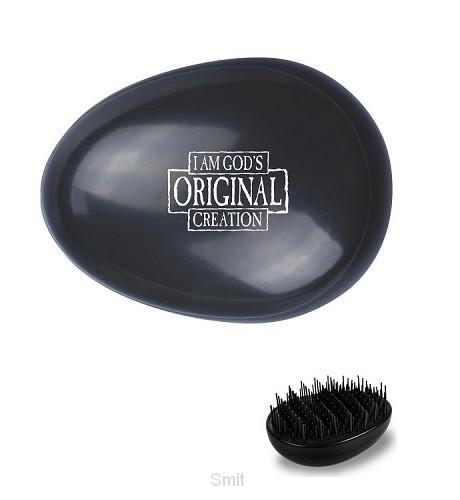 Haarborstel zwart I am God original crea