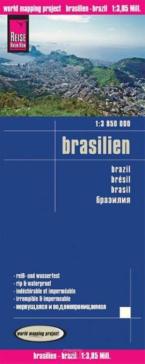 Reise Know-How Landkarte Brasilien 1 : 3 850 000
