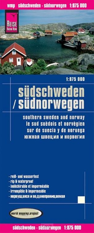 Reise Know-How Landkarte Südschweden, Südnorwegen 1:875.000