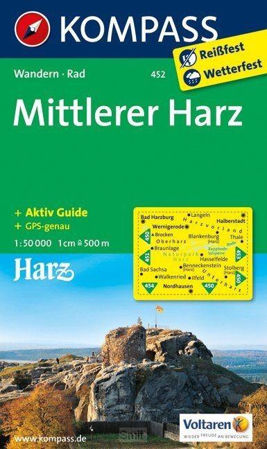 Kompass WK452 Mittlerer Harz