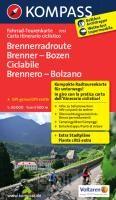 Kompass FTK7051 Brenner-Bozen-Radweg