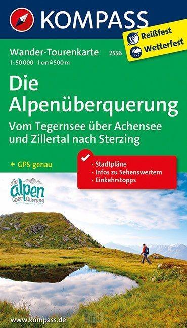Kompass WTK2556 Die Alpenüberquerung